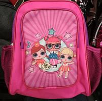 Детский красочный рюкзак кукла ЛОЛ 30*30*12 см