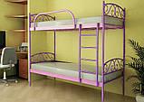 Двухъярусная металлическая кровать Design Service (1149), фото 2