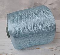 Пряжа Вискоза  100%, голубой Bluring spa