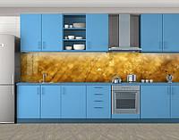 Кухонный фартук Янтарь, Самоклеящаяся скинали с фотопечатью, Текстуры, фоны, бежевый, 600*3000 мм, фото 1