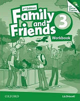 Family and Friends 3 Second Edition Workbook with Online Practice