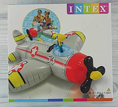 Плотик Самолет 132*130 см В коробке 57537 Intex