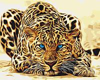 Картины по номерам / обложка. Дикая кошка 40х50см арт. КНО2450