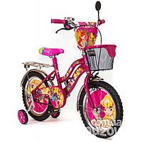 """Велосипед детский WINX 16"""" Розовый, фото 1"""