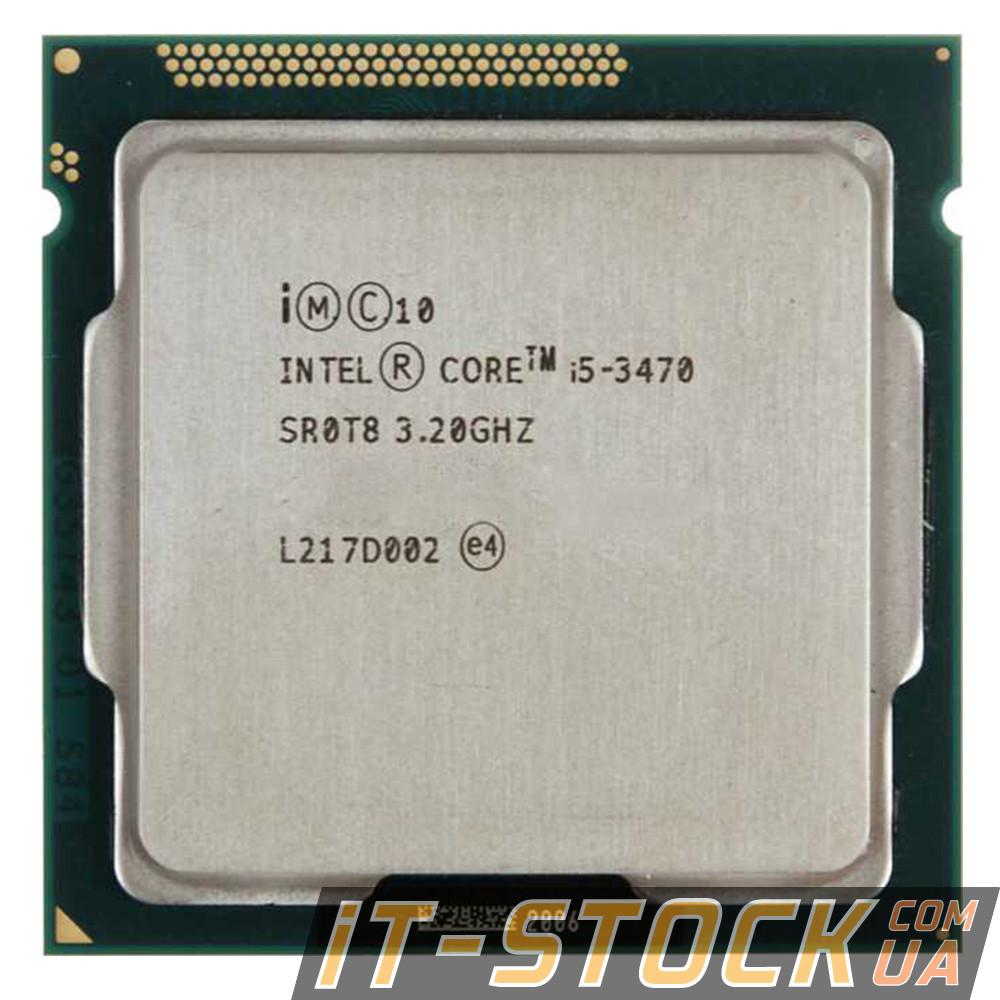 Процесор Intel Core i5 3470 (4×3.20 GHz/6Mb/s1155) БО