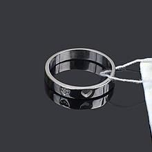 Женское серебряное кольцо с сердечком