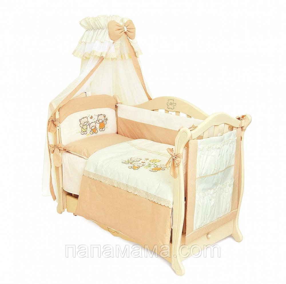 Набор детского постельного белья Twins Evolution Семья медвежат
