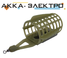 Кормушка пластиковая с крыльями, съемный груз 33х45мм