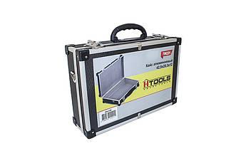 Кейс для инструмента Housetools - 425 x 285 x 120 мм алюминиевый с перегородками