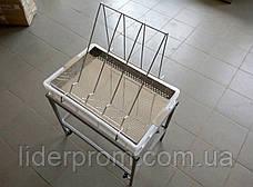Стол для распечатки с ванночкой пластиковой 100 мм, сито нерж. LYSON Польша, фото 3