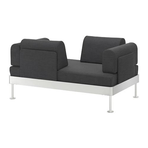 Диван 2-местный IKEA DELAKTIG Hillared антрацит 192.537.71