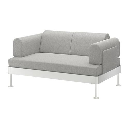 Диван 2-местный IKEA DELAKTIG Tallmyra белый серый 892.577.42