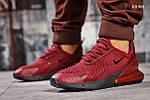 Мужские кроссовки Nike Air 270 (бордовые), фото 5