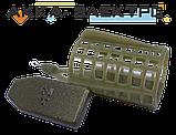 Годівниця пластикова з крилами, знімний вантаж 33х45мм 70г 10шт, фото 2
