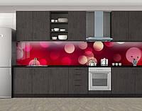 Кухонный фартук Винные блики, Скинали с фотоизображением на самоклеящейся пленке, Абстракции, красный, фото 1