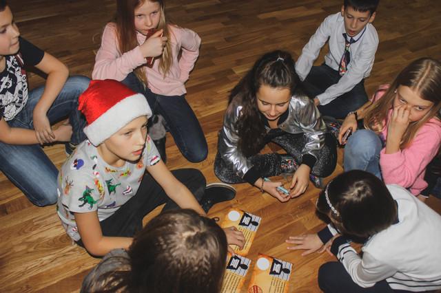 фото квест для детей в школе зимой