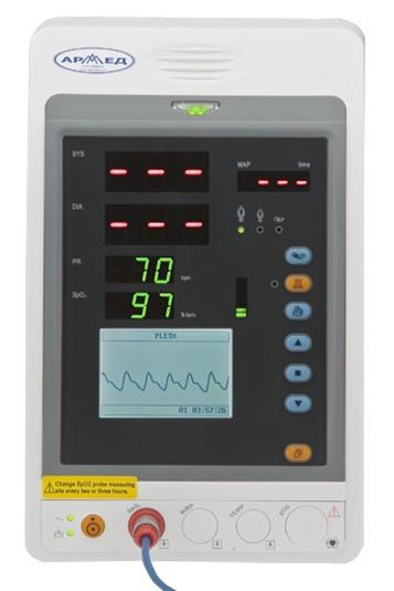 Монитор прикроватный многофункциональный медицинский Праймед PC-900s (SpO2)