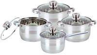 Комплект посуды 8 предметов BOHMANN BH-08-475 качественная посуда набор