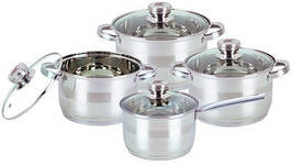 Комплект посуду 8 предметів BOHMANN BH-08-475 якісна посуд набір