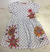 Платье для девочек на 4-5 лет (рост 98-110) (Венгрия)