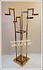 Стойка Осьминог хромированное золото, фото 3
