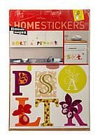 Наклейка для декора HOMESTICKERS 35х65см Разноцветный