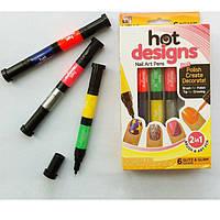 Hot designs набор для дизайна ногтей