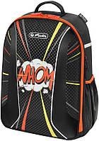 Рюкзак школьный Herlitz Be Bag Airgo Comic Whom 50015153 молодежный ортопедический без наполнения