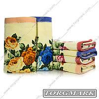 Полотенце лицевое махровое 50 х 90 расцветки в ассортименте
