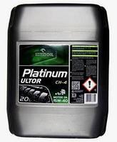 Масло15W-40 CH-4 20л минеральное ORLEN PLATINUM ULTOR PLUS дизельное для грузовых автомобилей