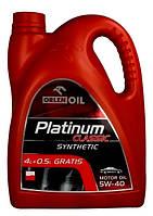 Масло 5W-40 4,5л синтетическое ORLEN PLATINUM CLASSIC SYNTHETIC