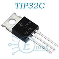 TIP32C, транзистор биполярный PNP, 100В, 3А, TO220