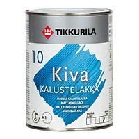 Лак Kiva Tikkurila для дерева матовый, 2.7л