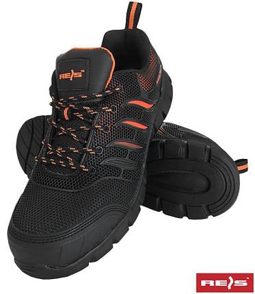 Защитные ботинки с металлическим носком Reis Польша (спецобувь) BRAMAZO BP, фото 2