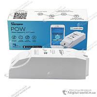 Дистанционный Wi-Fi выключатель Sonoff Pow для управления электропитанием и учета электроэнергии