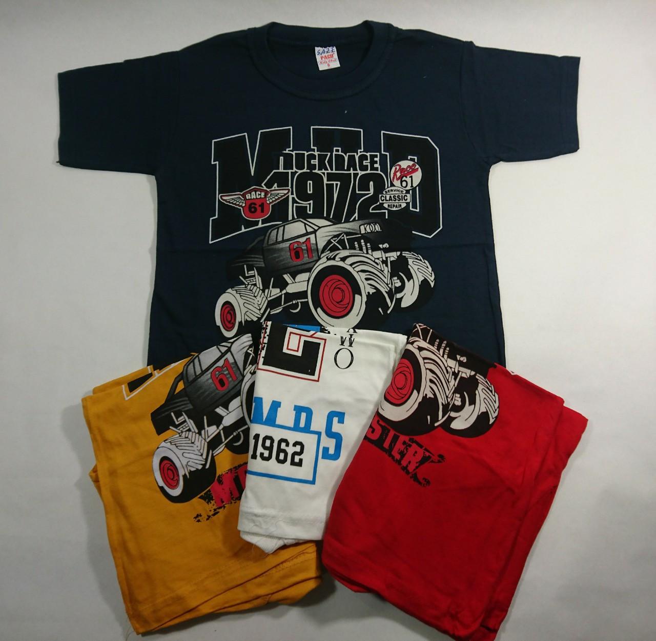 """Детская футболка,   летняя  на мальчика  """"Спортивная  машина""""   4-8"""