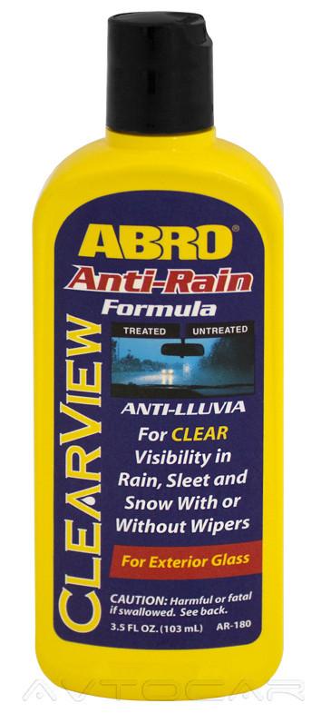 Антидождь Abro ClearView водоотталкивающий средство для стекла 103мл.