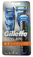 Станок Gillette Fusion PROGLIDE Styler (1) + 3 насадки