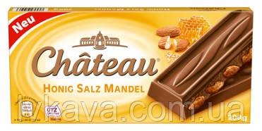 Молочный шоколад Chateau Honig Salz Mandel , 200 гр