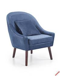 Кресло OPALE halmar тёмно синий