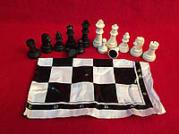 Шахматные фигуры пластиковые пешка 2.6 см, фото 1