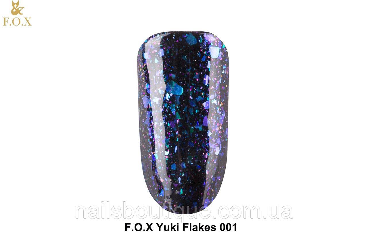 Гель лак Yuki Flakes Fоx №1