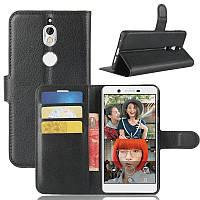 Чехол-книжка Litchie Wallet для Nokia 7 Черный