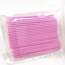 Микробраши для коррекции ресниц 1,5 мм в мягкой упаковке 100 шт