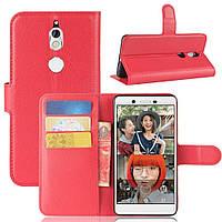 Чехол-книжка Litchie Wallet для Nokia 7 Красный