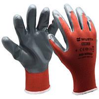 Перчатка робоча RED NITRILE WURTH | Перчатка рабочаяRED NITRILE WURTH