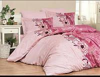 Півтораспальний постільний комплект - Беатріс рожева