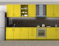Кухонный фартук Кожа Крокодила, Пленка для кухонного фартука с фотопечатью, Текстуры, фоны, коричневый, фото 1