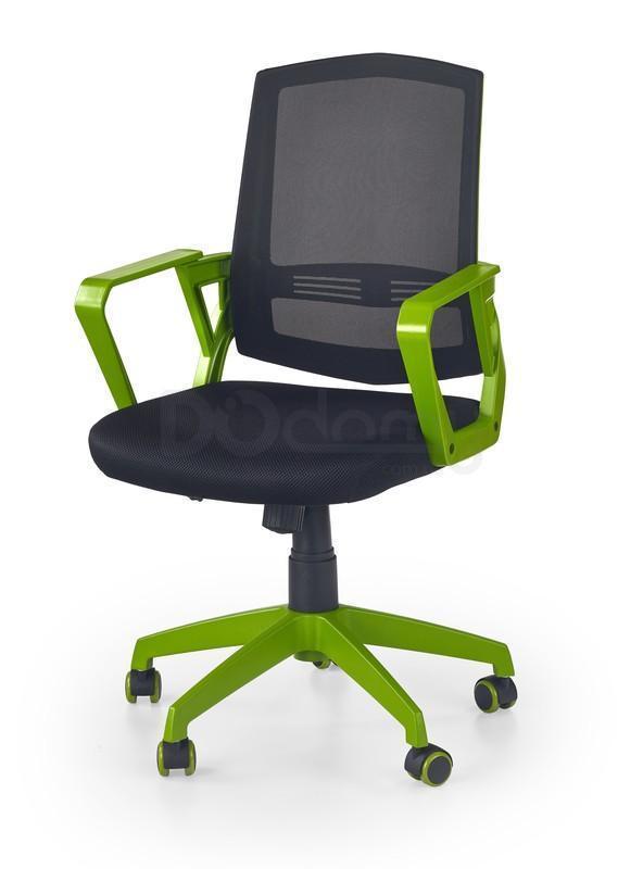 Компьютерное кресло Ascot Halmar черно-зеленый