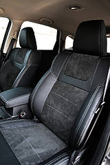 Чехлы Leather Style для Hyundai i20 (Хюндай i20) 2014- г. MW Brathers.